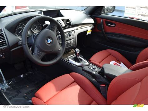 bmw red interior bmw 135i red interior for sale