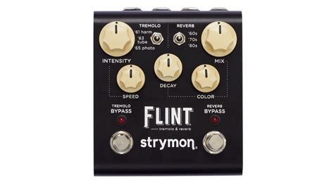 where can you buy flint strymon flint reverb and tremolo pedal demo