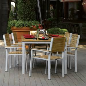 Patio Dining Sets Seats 6 by Oxford Garden Travira Teak Patio Dining Set Seats 6