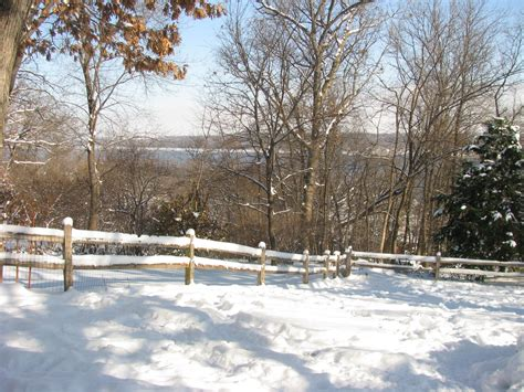 winter backyard winter pool 14 on the mississippi river