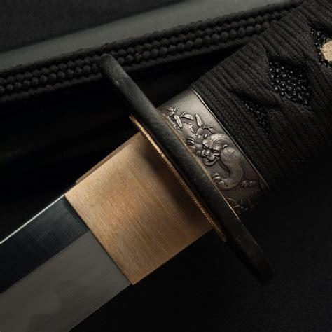 tiger katana kaneie black tiger t10 katana get a sword