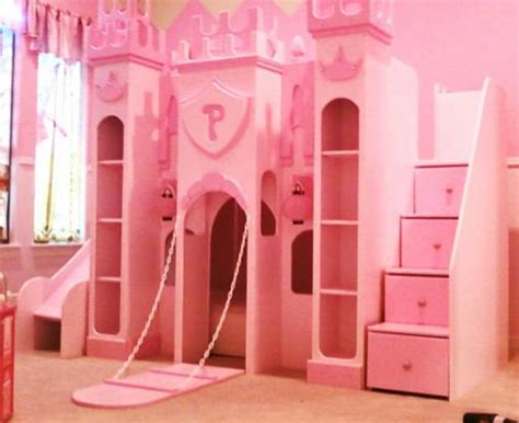 princess castle bed girls beds unique custom kids theme playhouse beds