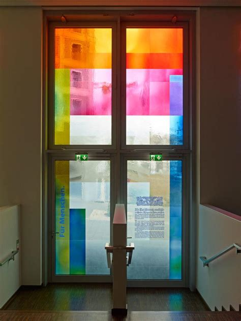 Blown Glass Door by Academy Of The Savings Banks Bendheim Glass Project