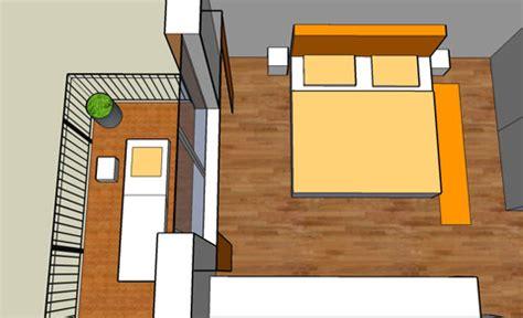 Spiegel Mit Schräge by Schlafzimmer Modern Wand Blau