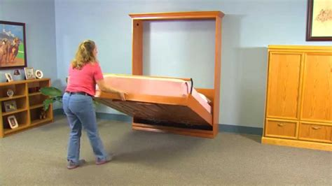 create a bed 174 do it yourself adjustable deluxe murphy bed kit features benefits