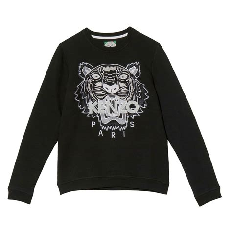 Tshirt Tiger Wood Black kenzo black tiger sweatshirt dsquared greece