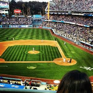 Photos seating view for dodger stadium section loge row g seat 1