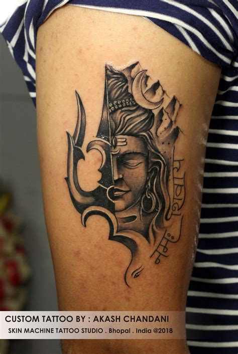 shiva tattoo design custom lord shiva by akash chandani thanks for