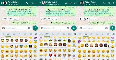 cadenas whatsapp emojis los emojis multirraciales de whatsapp llegan a android apk