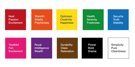 good color meanings behind colors simple best 25 meaning of colors