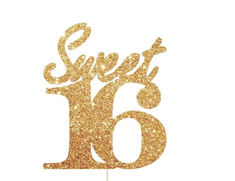 Sweety Gold 22 sweet 16 cake topper sweet 16 sweet 16 and