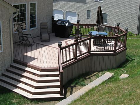 deck design ideas environmentally friendly composite decks moistureshield