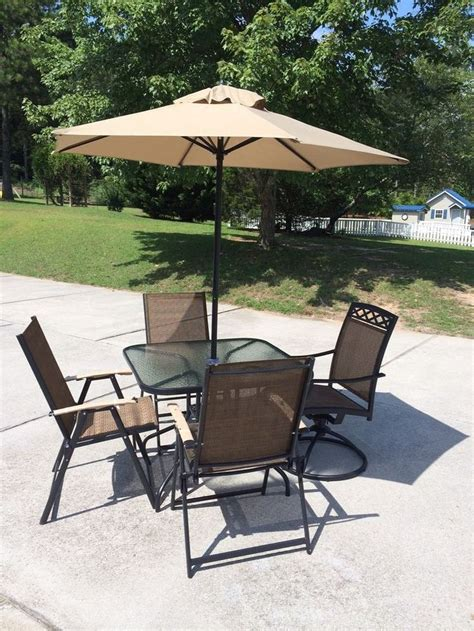 6 swivel chair patio set new patio set 6 outside with umbrella glass top