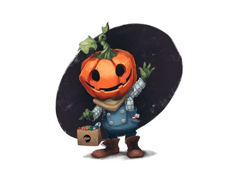 trick  treat  tubik  dribbble