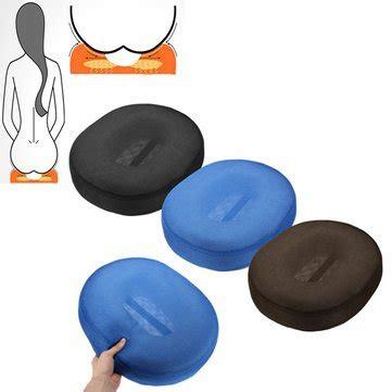 cuscini per mal di schiena memory foam coccige emorroidi sollievo mal di schiena