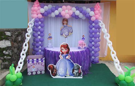 adornos de sofia decoracion de princesa sofia castillo globos my daughter