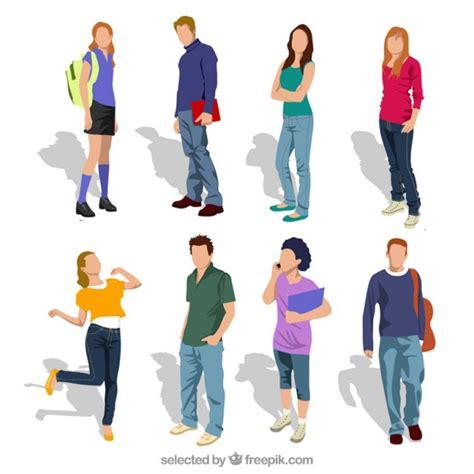 imagenes gratis estudiantes estudiantes adolescente descargar vectores gratis
