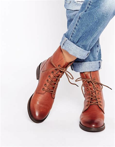 tie up boots leather lace up ankle boots cr boot