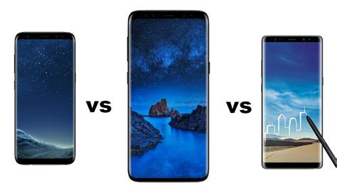 Samsung S8 Feb 2018 samsung galaxy s9 vs galaxy s8 vs galaxy note 8 spec