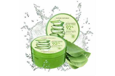 Nature Republic Aloe Vera Soothing Gel Lip Balm atenmunirah s i m in with hermo