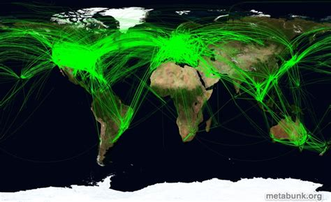 air traffic map usa interactive flight contrail map visualization contrail
