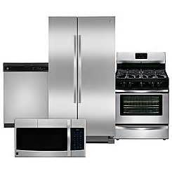 kenmore kitchen appliance packages kitchen appliance 4 piece package