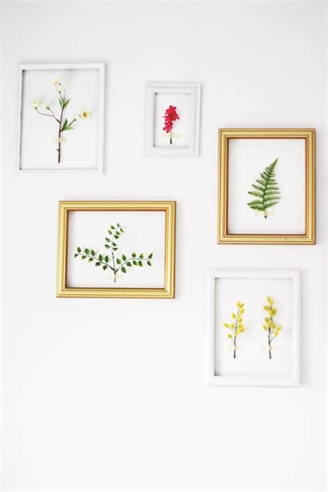 Wall Mounted Flower Vases Spring Feel In Your Home 8 Diy Wall D 233 Cor Ideas Shelterness