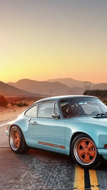 singer porsche iphone wallpaper singer 911 iphone wallpapers image desktop background