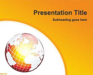 ppt themes on global warming climate change powerpoint template