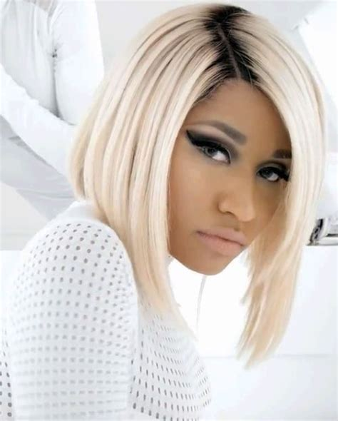 Nicki Minaj Bob Hairstyle by Nicki Minaj S Bob Bob Hairstyles