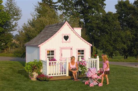 gingerbread cottage playhouse amish handcrafted gingerbread cottage playhouse