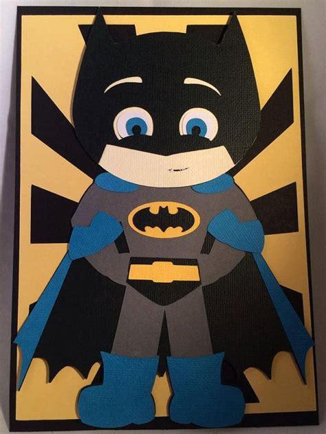 batman cards batman inspired handmade card