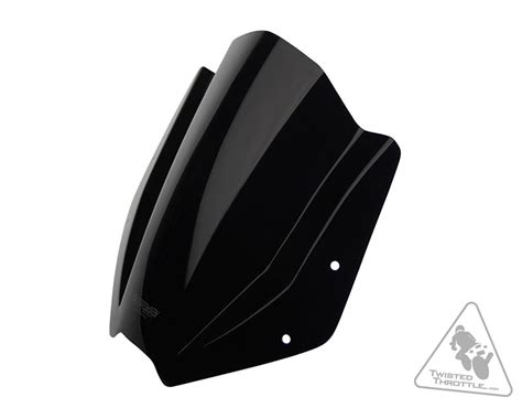 Windshield Universal mra stealth shield sh universal motorcycle windshield twistedthrottle