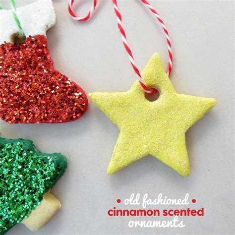 cinnamon scented ornaments