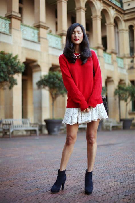Bc408 Semi Knit Shirt With Tutu Skirt proportions when layering a dress femalefashionadvice