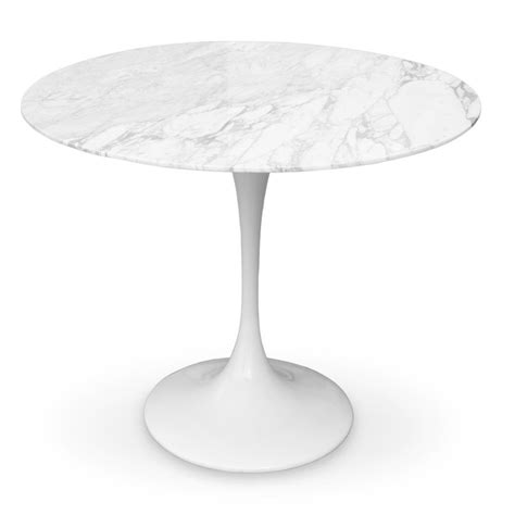 tulip dining table    marble top worldmoderndesigncom