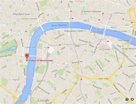 map of westminster palace of westminster in world easy guides