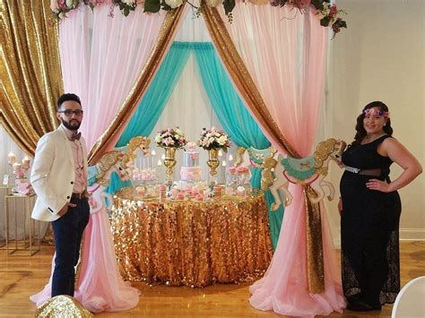 Glitter Baby Shower Theme by Gold Glitter Carousel Baby Shower Theme Baby
