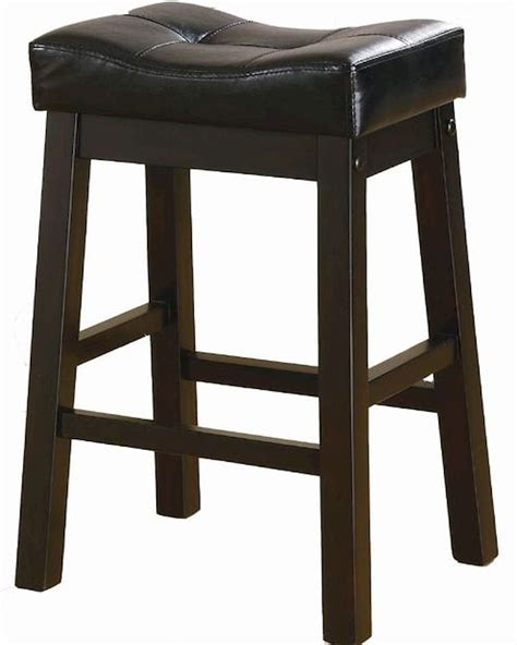 24 Padded Bar Stools Coaster 24 Quot Upholstered Seat Bar Stool Sofie Co 120519