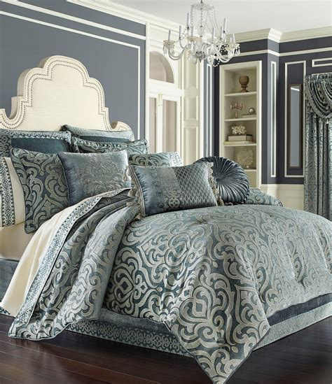 King Bedding Sets Clearance J Queen New York Sicily Puffed Damask Comforter Set