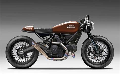 Harley Walz Motorrad by Ducati Scrambler Walz Intermot 2016 Motorrad Fotos