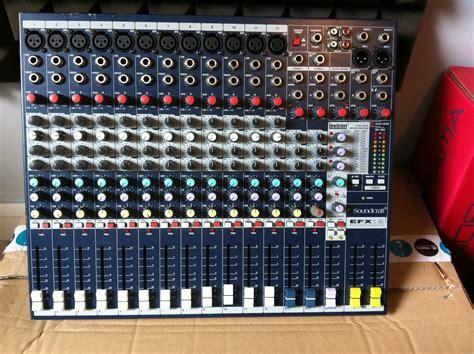 Audio Mixer Soundcraft Efx12 photo soundcraft efx12 soundcraft efx12 71922