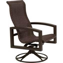 Outdoor Wicker Rocking Chairs Lakeside Woven Swivel Rocker Tropitone