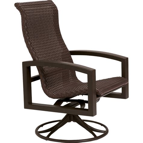 Patio Furniture Sets With Swivel Rockers Lakeside Woven Swivel Rocker Tropitone