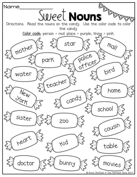 Nouns Worksheet by 25 Best Ideas About Nouns Exercises On