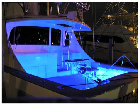 installing led boat deck lights led strip lighting exle for boat and marine use