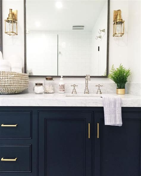 navy vanity 1000 ideas about marble countertops on pinterest white