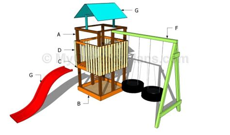 backyard playset plans pdf diy diy playset plans download diy playhouse on a