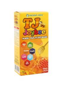 Tj Joybee Madu Multivitamin 100ml jual tresnojoyo joybee madukids orange 100 ml prosehat
