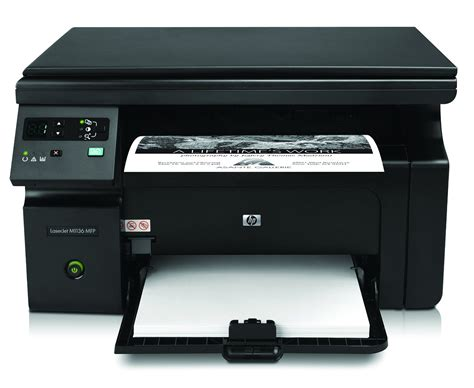 Printer Hp Copy Scan hp m1136 mfp laserjet all in one printer print scan copy